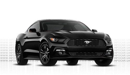 Цвета Mustang