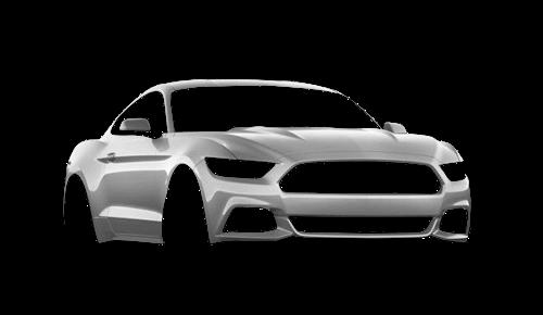Цвета кузова Mustang