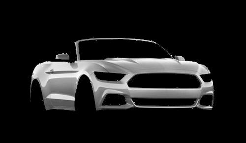 ����� ������ Mustang Convertible